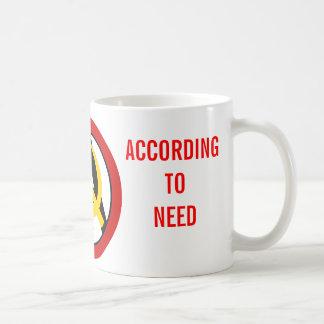 Anarcho-kommunistisches Logo Kaffeetasse