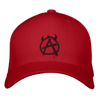 Anarchy Lane Brewing Company gestickt - Weiß Bestickte Baseballmütze