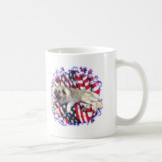 Anatolischer Schäfer-Hundepatriot Kaffeetasse