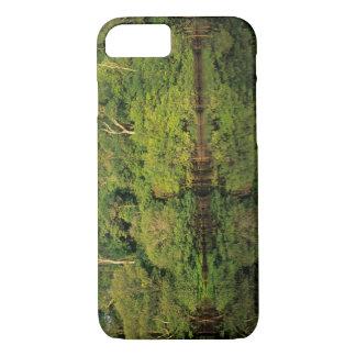 Anavilhanas, Amazonas, Brasilien. Regenwaldfluß iPhone 8/7 Hülle