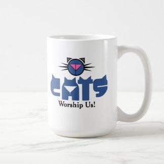 Anbetung Kat Krazy Kaffeetasse