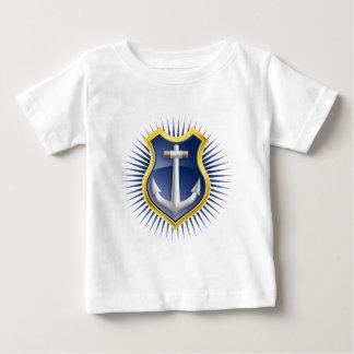 anchor marine ship baby t-shirt