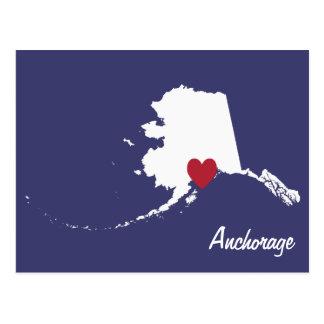 Anchorage Alaska Postkarte