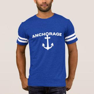 Anchorage - der Fußball-T-Shirt Alaska-Männer T-Shirt