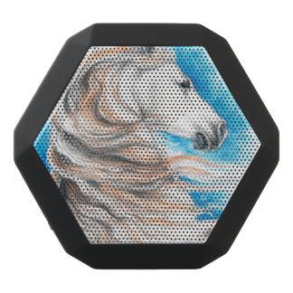 Andalusisches Pferdeblau Schwarze Bluetooth Lautsprecher