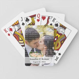 Andenken-Foto-Spielkarten Spielkarten