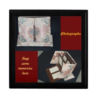 Andenken-Kasten/Erinnerungen/Fotografie/Antiken Schmuckschachteln