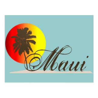 Andenken Mauis Hawaii Postkarte