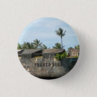 Andenken: San Jeronimo: Puerto- RicoButton Runder Button 3,2 Cm