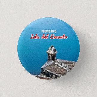 Andenken: San Juan, Puerto Rico: Button