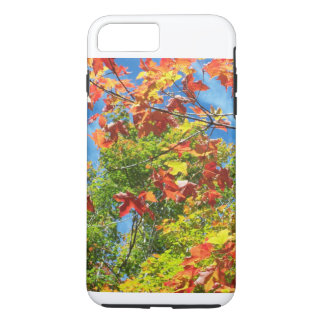 Ändernder Blätter-Natur-IPod-Kasten iPhone 7 Plus Hülle