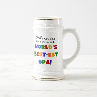 Andernfalls bekannt als beste Opa T - Shirts und Bierglas