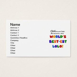 Andernfalls bekannte T - Shirts und Geschenke Visitenkarte