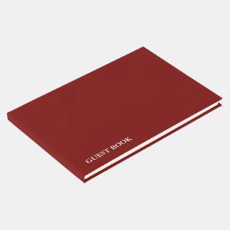 Änderungsfarbe der SCHABLONE DIY addieren Gäste Buch