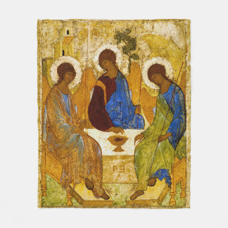Andrei Rublev, icon of the Trinity Fleecedecke