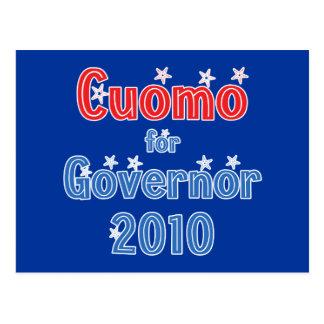 Andrew Cuomo für Stern-Entwurf des Gouverneur-2010 Postkarte