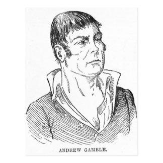 Andrew-Glücksspiel Postkarte