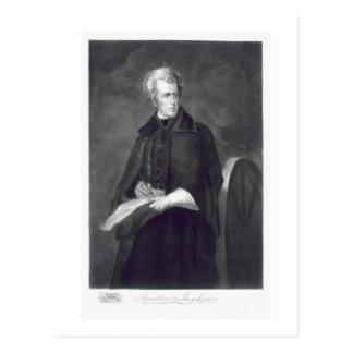 Andrew Jackson, 7. Präsident der Vereinigten Postkarte