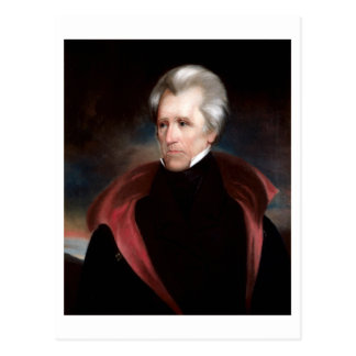 Andrew Jackson Postkarte