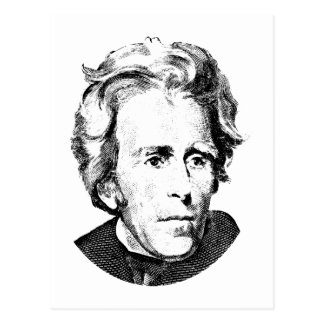 Andrew Jackson Postkarte - andrew_jackson_postkarte-rc5c100401480442bbb93510faaa1176b_vgbaq_8byvr_324