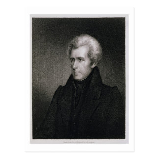 Andrew Jackson (Stich) Postkarte