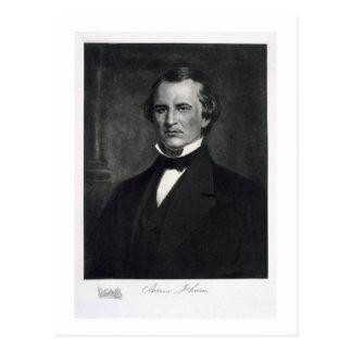 Andrew Johnson (1808-75), 17. Präsident der UNO Postkarte