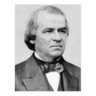 Andrew Johnson Postkarte