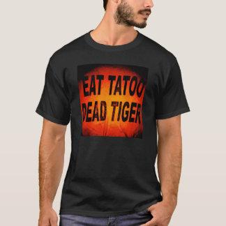 Andrez Bergen essen Tatoo totes Tiger-T-Stück T-Shirt