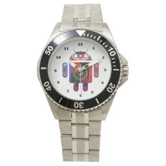 ANDROID   :    Mehrfache Bügel-Wahl Armbanduhr