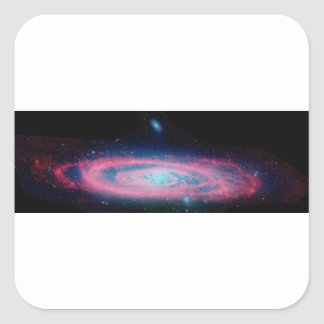 Andromeda Quadratischer Aufkleber
