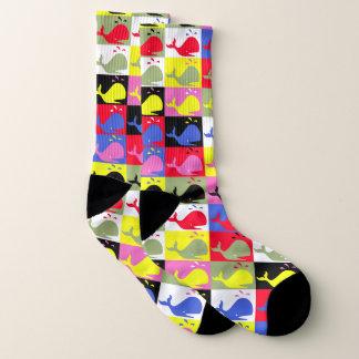Andy Wal-Hole™ pattern_Lots o bunte Wale Socken