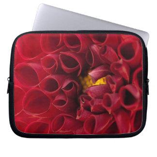 Anemonen-Dahlie-Laptop-Hülse Laptopschutzhülle