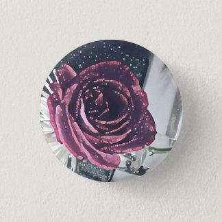 Anerkennungs-Rose Runder Button 2,5 Cm