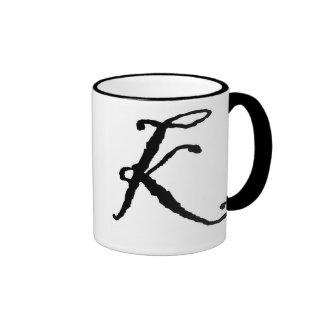 Anfangsk-Tasse Ringer Tasse