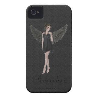 Ange gothique mignon audacieux de Blackberry Étui iPhone 4