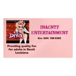 ange mignon, divertissement d'Inacnyt, fournissant Carte De Visite Standard