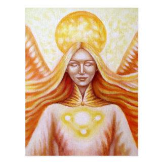 Ange solaire 01 (détail) carte postale
