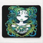 "Ange vert Mousepad de l'eau de ""Kallan"" Lotus Tapis De Souris"