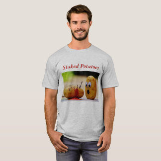 Angebundener Kartoffel-T - Shirt