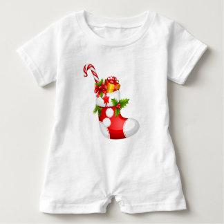 Angefüllter Strumpf-Baby-Spielanzug Strampler