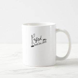 Angehoben auf süßen Tee und Jesus Kaffeetasse