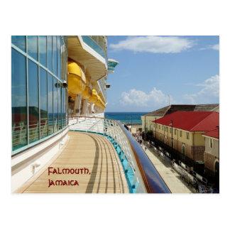 Angekoppelt an Falmouth-Gewohnheit Postkarte