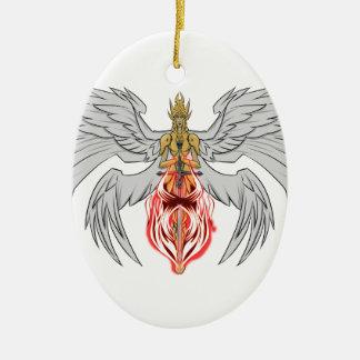 angel_queen_2 ovales keramik ornament