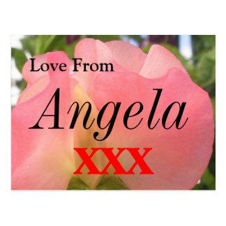 Angela Postkarte
