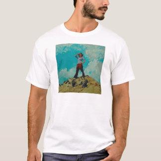 Angelina der Ausblick T-Shirt