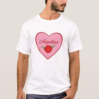 Angelina (Herz) T-Shirt