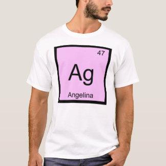 Angelina Namenschemie-Element-Periodensystem T-Shirt