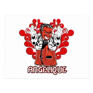 """""""Angelique, der Teufel ließ mich es tun! """" Postkarte"""