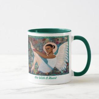 Angelique eine französische Earthangel Tasse