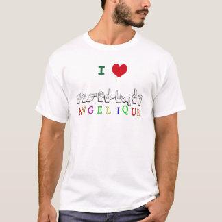 ANGELIQUE FINGERSPELLED NAMENSSISGN T-Shirt